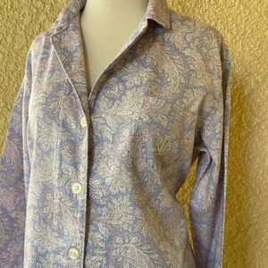 Ralph Lauren Print Cotton-Blend Sleep Set M